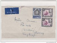 1946 KGVI Airmail K-U-T Cover to UK ZZ510