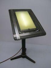 Vtg A B Dick Mimeoscope Model 5 Illuminated Drawing Board Lighted Stencil Table