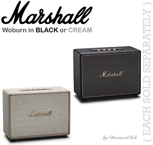 NEW Marshall Woburn Wireless Bluetooth Speaker BLACK 04091921 or CREAM 04091923