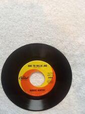 "45  ""Ode To Billie Joe/Mississippi Delta""-Bobbie Gentry-Capitol #5950"