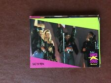 F1d  trade card pro set musicards superstars no salt n pepa no 120 together