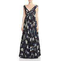 Fame And Partners Womens Floral Sleeveless Daytime Maxi Dress BHFO 3616