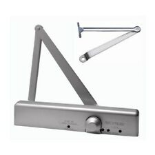 Commercial Grade 1 Adjustable Size  1-6 Door Closer UL Aluminum / Duronotic