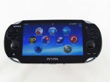BLACK Sony Playstation Vita Wifi console di gioco. buone condizioni + Garanzia