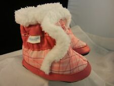 Robeez Thermal Bootie Pastel Pink  - RL32358 - Size 0-6 Months NIB
