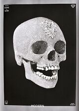 FOR THE LOVE OF GOD LARGE FORMAT LITHOGRAPH : DIAMOND SKULL : DAMIEN HIRST :MINT