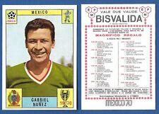 ALBRECHT 1966 BISVALIDA NUOVA//NEW FIGURINA CALCIATORI PANINI MEXICO 70
