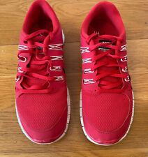 Women's Nike Free Trail 5.0 Red Running Shoes Size 11 - FREE SHIPPING!
