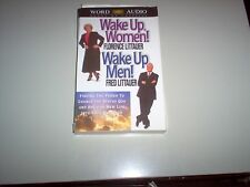 """Wake Up,Women! Wake Up, Men!"" 2 audio cassettes by Florence & Fred Littauer"