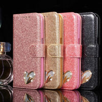 for Apple iPhone 6 6s Case cover Magnetic Flip Leather Wallet bling book luxury