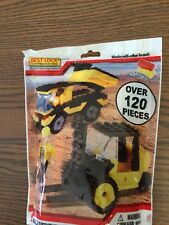 Unopened Best Lock Construction Toys. Dump truck And Forklift
