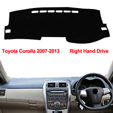 Right Hand Drive's Car Dashboard Cover Dash Mat Fit for Toyota Corolla 2007-2013