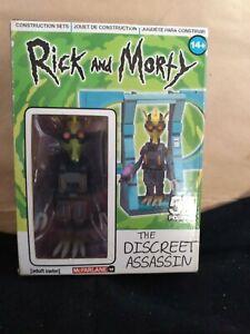.Rick and Morty - The Discreet Assassin - 54 pcs Build NIB McFarlane Adult Swim
