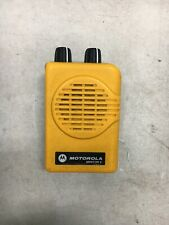 Motorola Minitor V (5) Vhf Pager Yellow No Battery