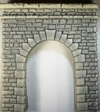 "6157 O-Scale ""Rough Cut"" High Profile Single Tunnel Portal"