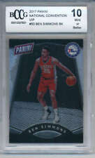 2017 Panini National Convention VIP #50 Ben Simmons Rookie BCCG 10 MINT 76ers