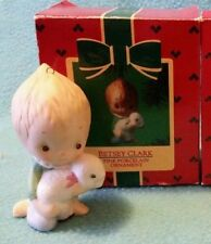 Hallmark Keepsake Ornament~ Betsey Clark Fine Porcelain 1985 angel with lamb