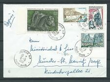 LETTRE - TIMBRES 1965 1966