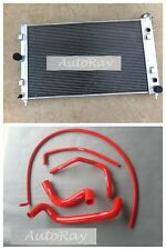 Aluminum Radiator for Holden Commodore VZ LS1 LS2 SS V8 2004-2006+Silicone Hoses