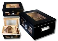 Black Wonderful Kristallglas Humidor V-1320, statt: 165,00 €