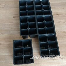 Seedling Seed Starter Tray Inserts Large Quality 120 Cells Nursery+ 50 Labels
