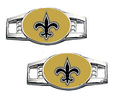 New Orleans Saints Shoe Charms / Pair of 2