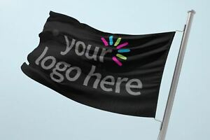 Custom Flag | Personalised Flag | Printed Mesh Banner | Any Size | Made in UK