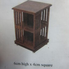 1/12 scale Dolls House Furniture   Revolving Book Stand  Ready made    dhd92RM