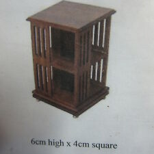 1:12 scale Dolls House Kit Furniture Revolving Book Stand Kit DHD92