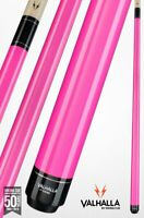 Valhalla by Viking 2 Piece Pool Cue Pink with Pink Case - Lifetime Warranty!