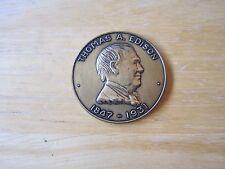 Thomas Edison 1947-1931/Edison Pageant of Light Ft. Myers, Florida MEDAL