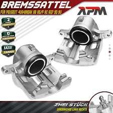 2x Bremssattel Vorne L+R 57mm 26mm für Peugeot 406+Break 8B 8E/F 8C 607 9D 9U