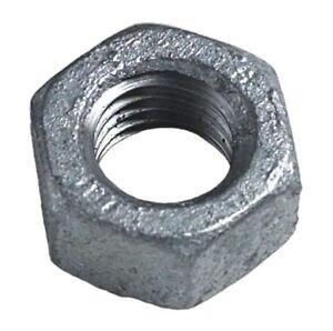 Plain Steel Nuts - Metric Zinc Plated Steel DIN934