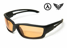 edge tactical eyewear blade runner schwarz/tiger eye vapor shield lens-sbr610