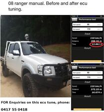 Ford Ranger PK PJ  3.0 ECU TUNE - ADD 67 To 110 hp / 105 To 200 nm torque EGR
