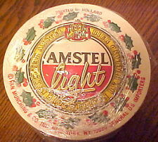 NEW SEALED PACKAGE 50 AMSTEL LIGHT BEER COASTERS, EXCEL COND. HOLLAND