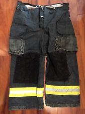 Firefighter Janesville Lion Apparel Turnout Bunker Pants 42x28 Black Costume
