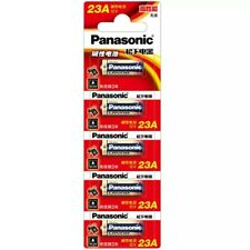5x Panasonic 23A 23AE MN21 23 A23 23GA 12V Remote Control - Alkaline Battery