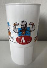 Rare 1983 The A-team Plastic Mug Vintage Mr. T