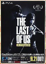 The Last of Us RARE PS3 51.5 cm x 73 Japanese Promo Poster #3