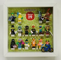 Display Frame case for Lego Series 19 71025 minifigures no figures