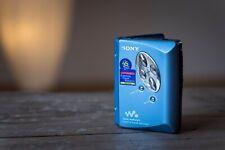 Sony Walkman WM-EX521 Vintage Cassette Player blau für Kassetten MC high end AMS