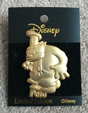 Disney Mickey & Pals M&P Japan Goldtone Gold 100 Relief Series Big Pete Pin LE