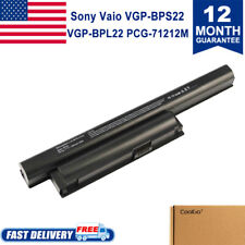 6 Cell Laptop Battery for Sony Vaio VGP-BPS22 VGP-BPS22A VPC-E1Z1E VPC-EA1 VPCEC