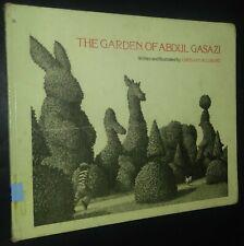 The Garden of Abdul Gasazi Chris Van Allsburg Bull Terrier 2nd Printing