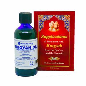 RUQYAH PACK: Organic Ruqyah Oil, Ruqyah Book