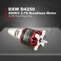 DXW D4250 800KV 3-7S Brushless Motor For RC Fixed Wing Airplane