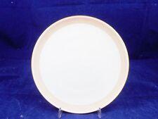 KPM Berlin Urbino Kuchenteller weiß mit Rosa-/lachsfarb. Rand u. Goldrand 19,5cm