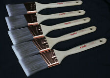 "5 Purdy XL Glide Paint Brushes 2"" Angled All Paint Lot New Unused Copper Ferrule"
