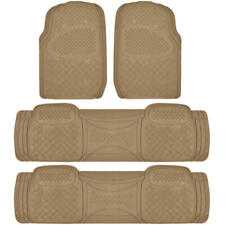 4 Piece 3 Row Beige Full Set Floor Mats for Honda Odyssey Semi Custom Fit⭐⭐⭐⭐⭐